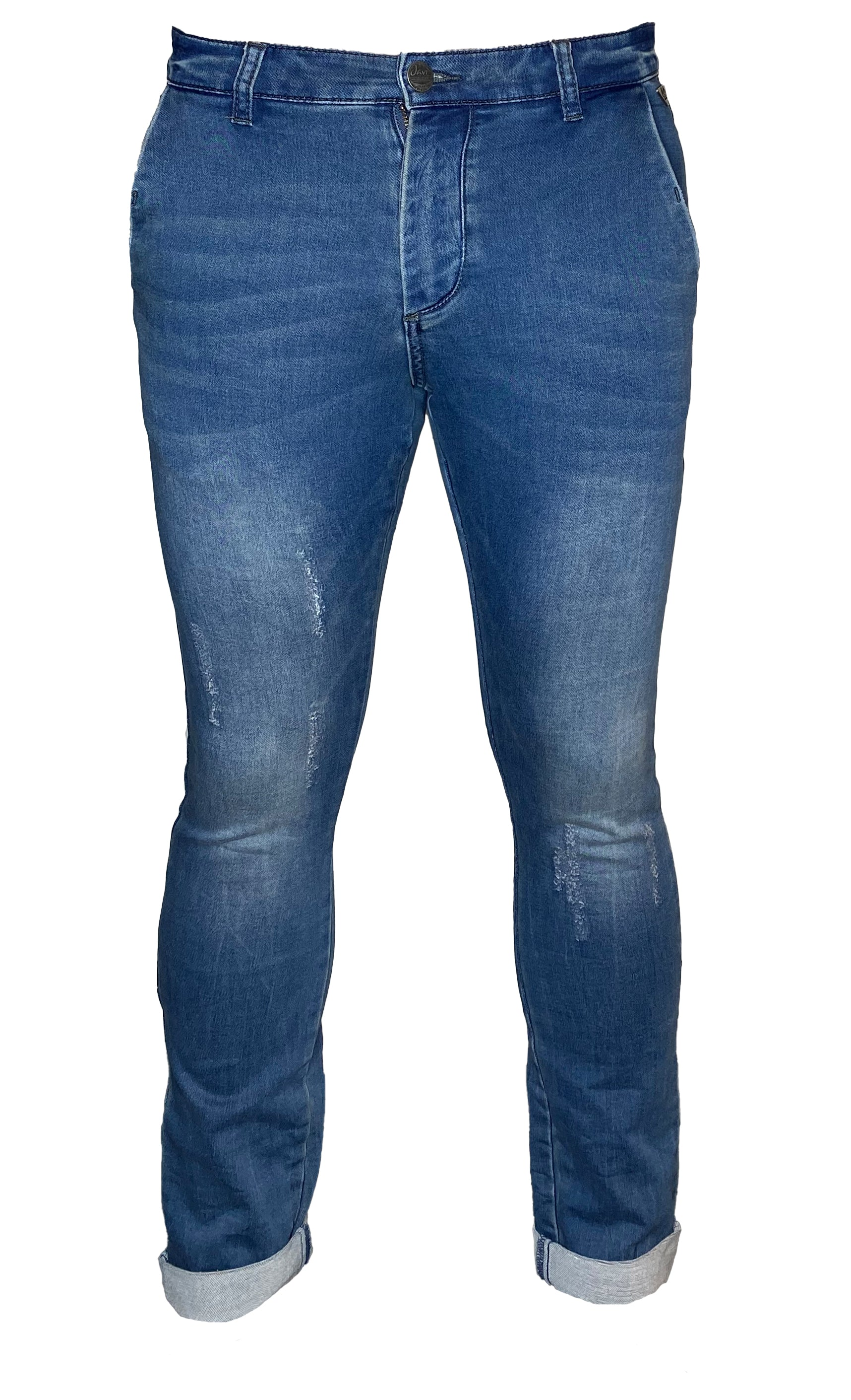 Javi by Buena Vista Herren Jeanshose Marius Sweat Denim Skinny
