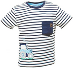 SALT AND PEPPER Baby - Jungen T-Shirt T-Shirt Adventure StripesStick
