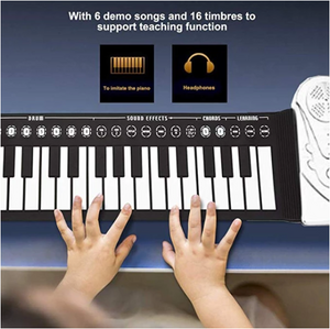 Best gift - hand roll portable piano(buy 2 get 7% off)