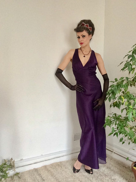 In praise of Kiss Me Deadly's Leonie bias-cut gown