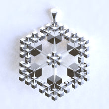 Load image into Gallery viewer, Snowflake Pendant KQYJJP