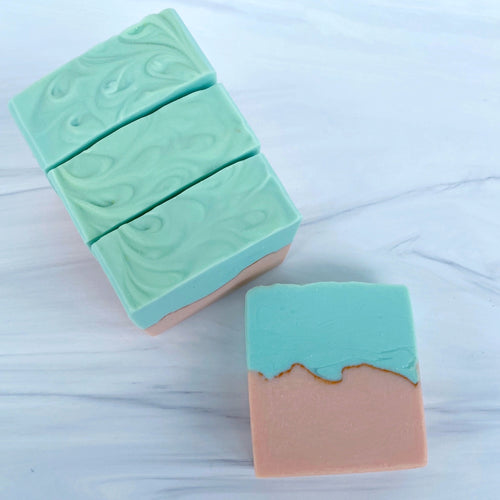 Grapefruit & Mint Handmade Soap