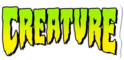 "Creature - Logo Sticker 1"" x 2"""