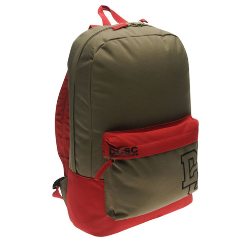 DC Shoes - Rucksack Backpack Red/Khaki