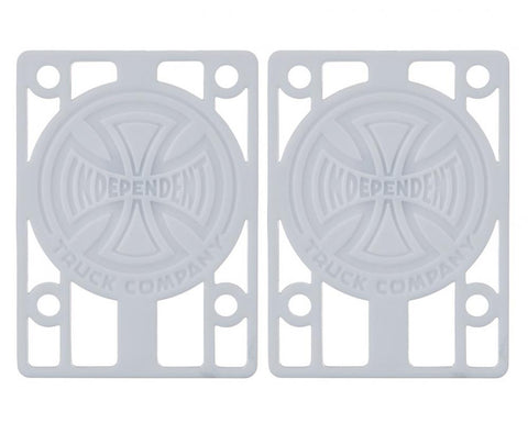 Independent-  Riser Pads (Pack of 2) White 1/8IN