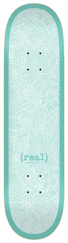 Real - Flowers Renewal Deck  8.25 Turquoise