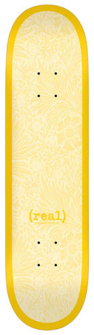 Real - Flowers Renewal Deck 8.38 Yellow
