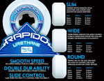 Ricta - Wheels	Clouds 92a White/Black 54 MM