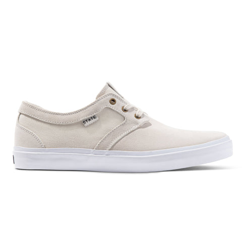 State - Bishop Cream/White