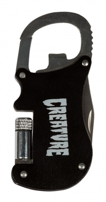 Creature - Swat Carabiner Knife Tool Blk/Sil OS