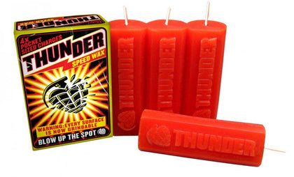 Thunder - Wax Speed Wax Red (Pack of 4)