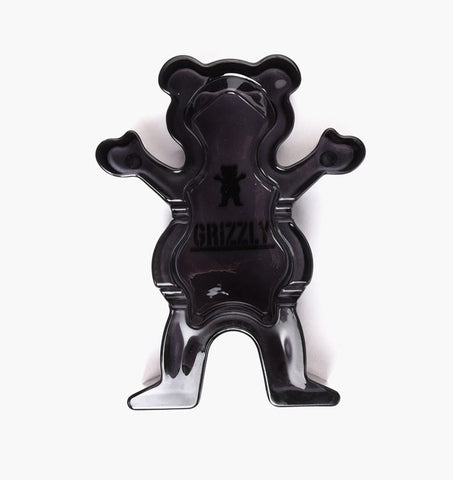 Grizzly - Og Bear Glass Ashtray Smoke Black