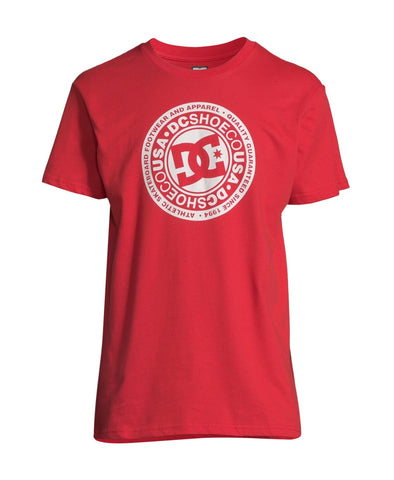 DC Shoes - Circle T-Shirt Red