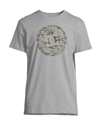 DC Shoes - Circle T-Shirt Grey Camo