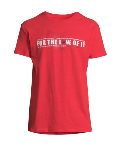 DC Shoes - Ftloi T-Shirt Red