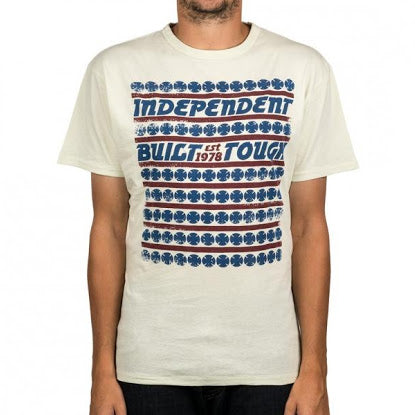 Independent - T-Shirt Fight Card Bone White