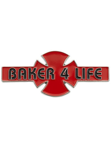 Independent - Baker 4 Life Pin Red/Black