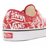 Vans - Authentic OTW White & Red Fabric