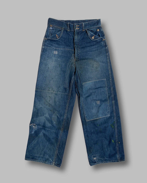 1940s/1950s Headlight Jeans - Shop Cat And Cobra