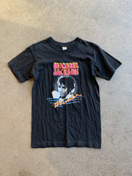 1983 Michael Jackson Thriller T-Shirt - Shop Cat And Cobra