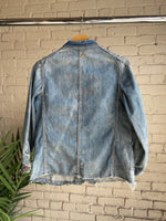 WW2 Era Denim Chore Jacket - Shop Cat And Cobra