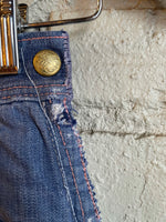 "1950s Bilt Well Side Zip Jeans - 25"" Waist - Shop Cat And Cobra"