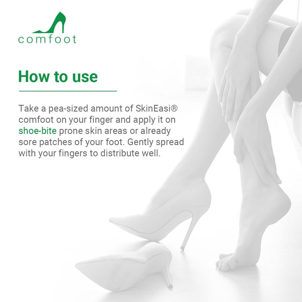 Skineasi<sup>®</sup> comfoot anti shoe-bite silicone gel and foot protector (Family Pack) 10g