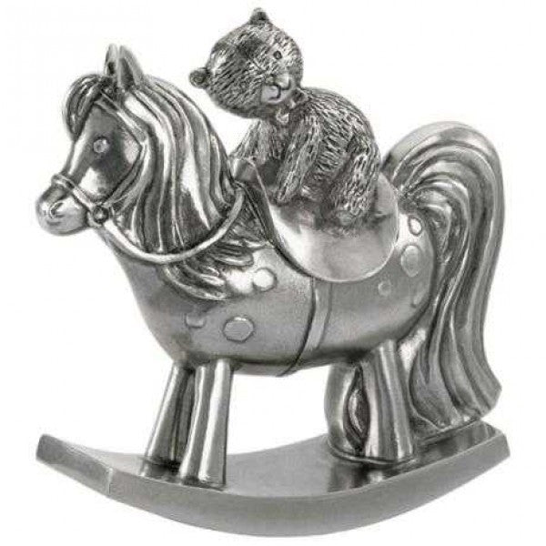 ROYAL SELANGOR TEDDY ROCKING HORSE BOX 016522RG