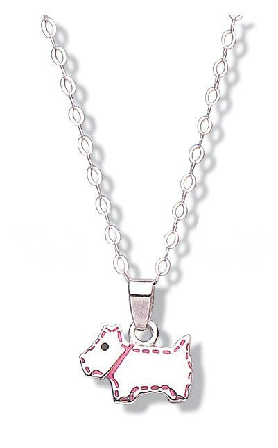 JO FOR GIRLS SILVER DOG PENDANT CP45P