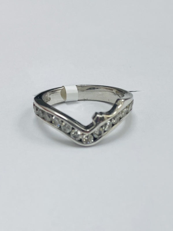 18ct White Gold 0.45cts Diamond Ring