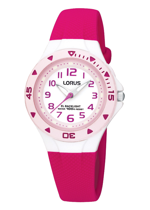 LORUS GIRLS STRAP WATCH R2339DX9 - Robert Openshaw Fine Jewellery