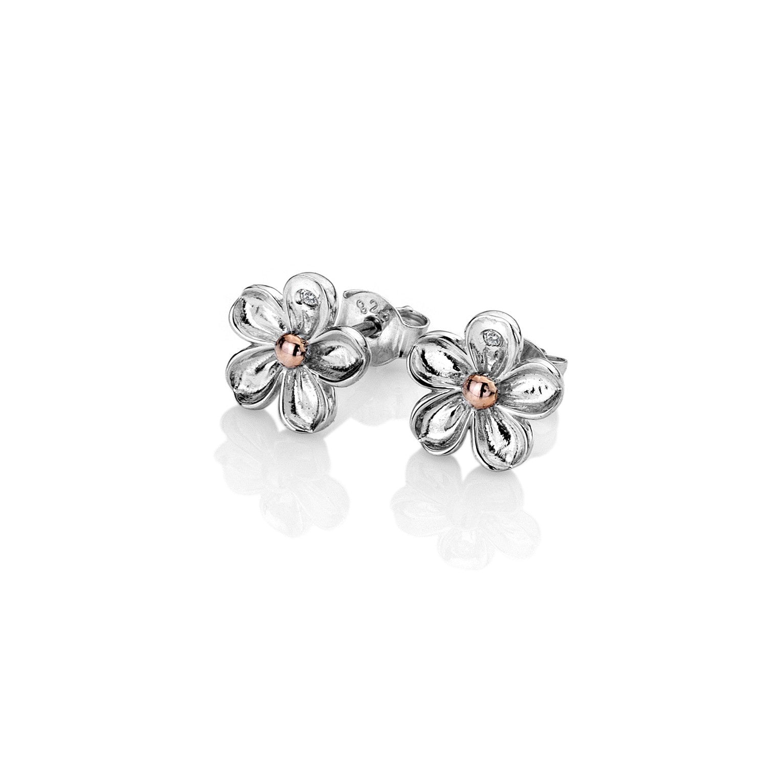 Hot Diamonds Forget Me Not Stud Earrings DE618