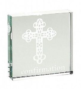 SPACEFORM CONFIRMATION PAPERWEIGHT  0851MPCC