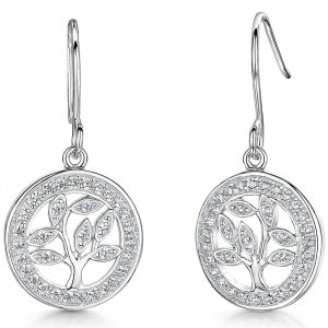 Jools Silver CZ Earrings KPE2381