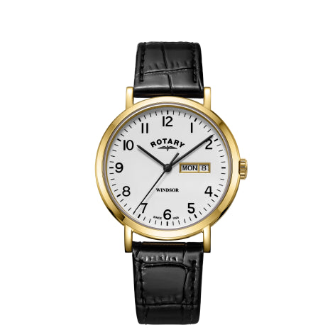 Rotary Gold Windsor Gents GS05303/18