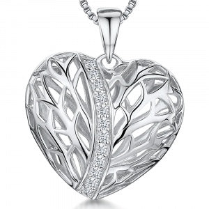 JOOLS 925 CZ Heart Necklace KPN2877 - Robert Openshaw Fine Jewellery