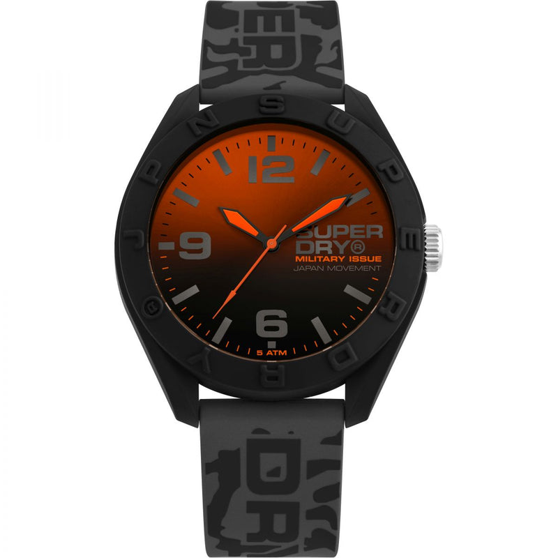 Superdry Osaka Camo Grey Watch SYG242E - Robert Openshaw Fine Jewellery