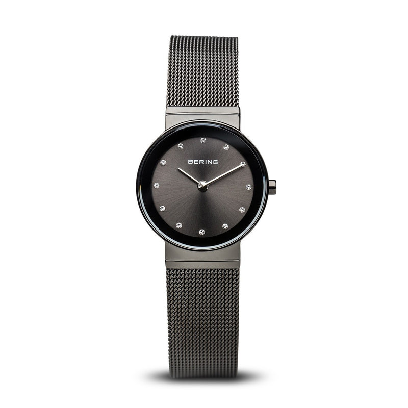 Bering Womens Classic Polished Grey Watch 10126-077 - Robert Openshaw Fine Jewellery