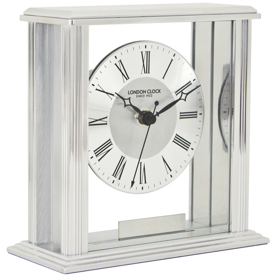 LONDON CLOCK CO FLAT TOP MANTLE CLOCK 06399 - Robert Openshaw Fine Jewellery