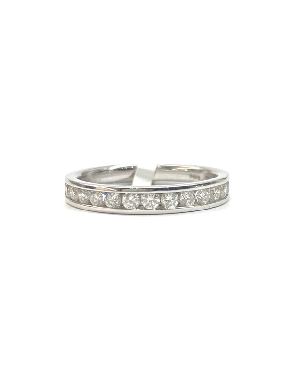 18ct White Gold 0.50cts Diamond Eternity Ring M02997