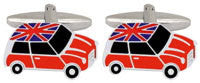 MINI UNION JACK ROOF CUFFLINKS 901438 - Robert Openshaw Fine Jewellery