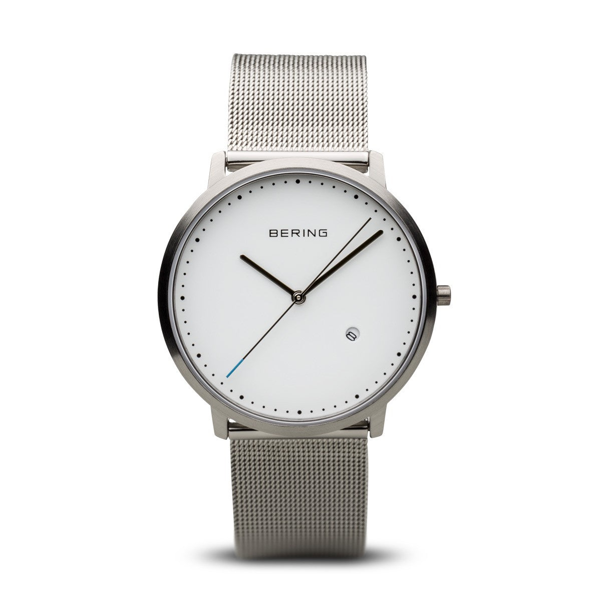 Bering Unisex Classic Brushed Silver Watch 11139-004 - Robert Openshaw Fine Jewellery