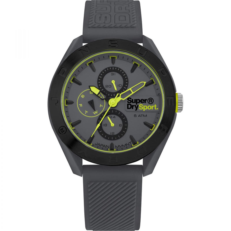 Superdry Grey Strap Watch SYG244E - Robert Openshaw Fine Jewellery
