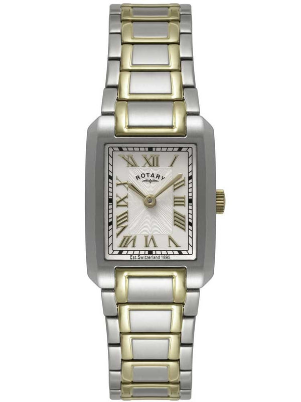 ROTARY LADIES TWO TONE BRACELET WATCH LB02606/40 - Robert Openshaw Fine Jewellery
