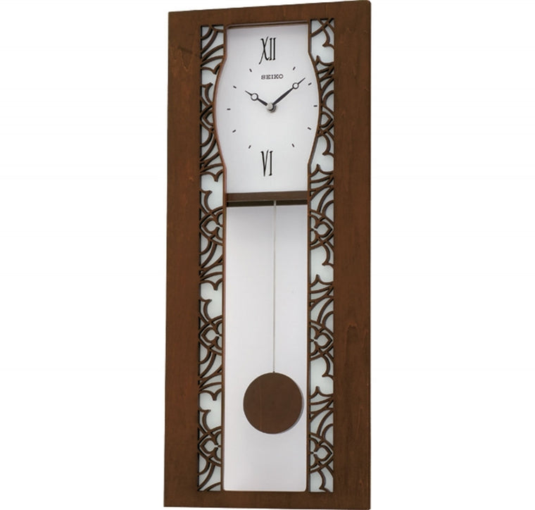 SEIKO WOODEN WALL CLOCK QXC215B