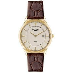 ROTARY GENTS LEATHER STRAP WATCH GS08002/03 - Robert Openshaw Fine Jewellery