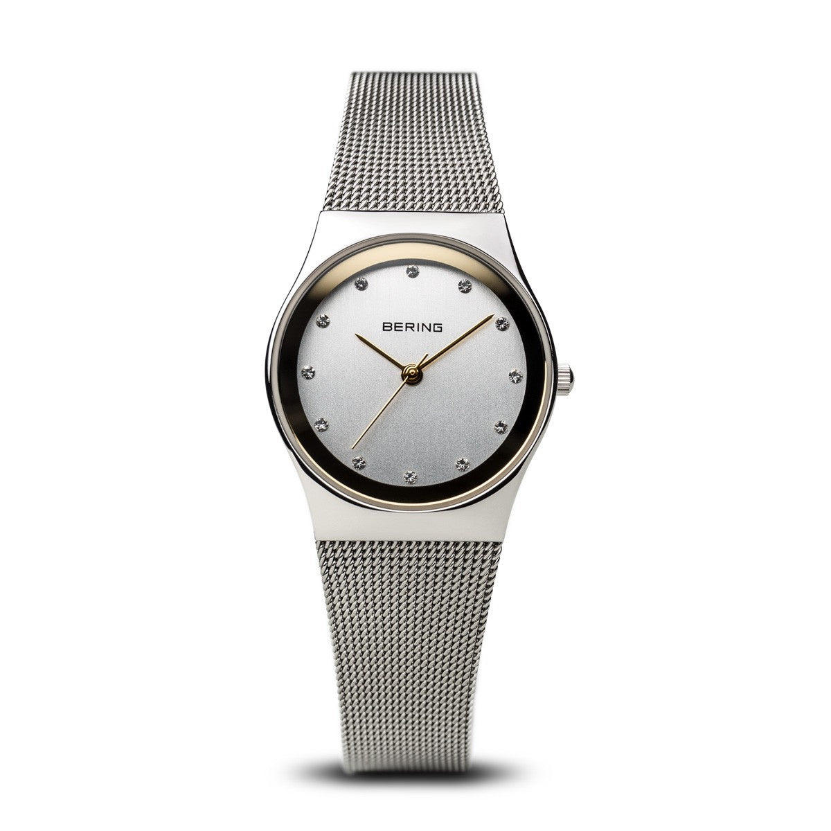 Bering Womens Classic Polished Silver Watch 12927-010 - Robert Openshaw Fine Jewellery