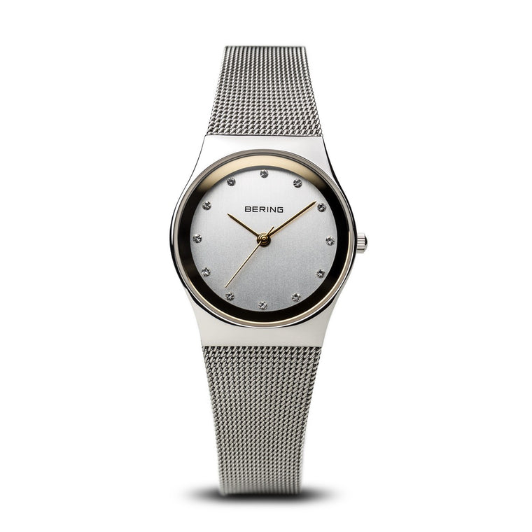 Bering Womens Classic Polished Silver Watch 12927-010