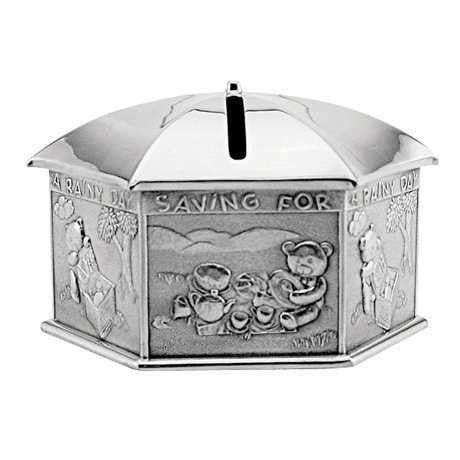 NGOR SAVING FOR A RAINY DAY COIN BOX, BOXED 016438RGROYAL SELA