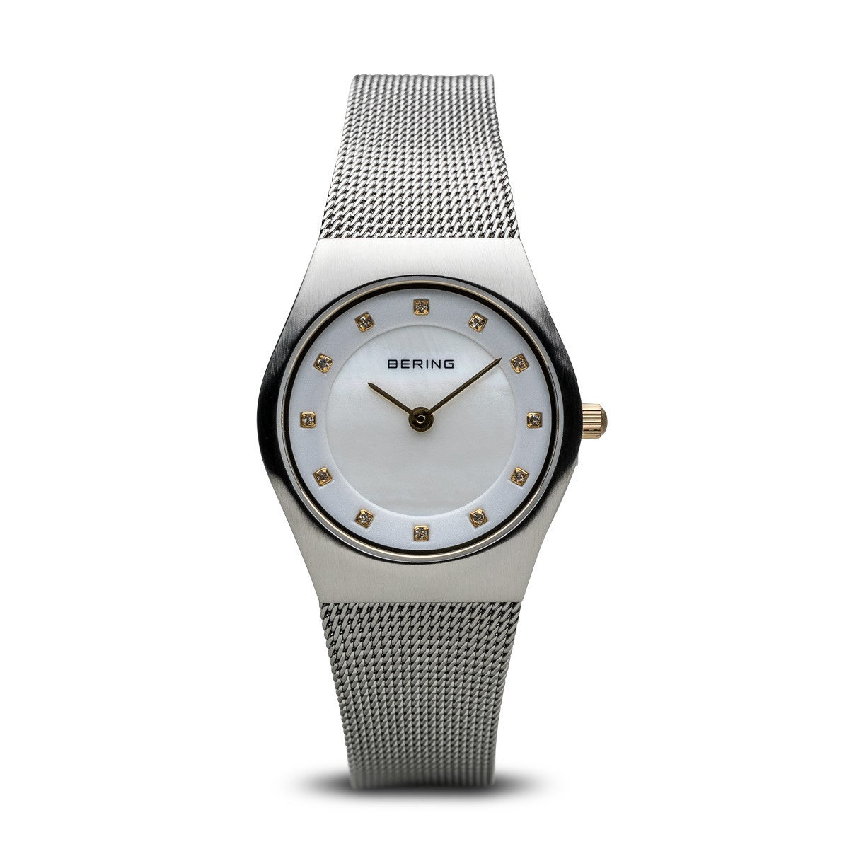 Bering Womens Brushed Silver Watch 11927-004 - Robert Openshaw Fine Jewellery
